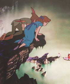 Uploaded by Find images and videos about disney, peter pan and neverland on We Heart It - the app to get lost in what you love. Walt Disney, Disney Films, Disney Magic, Disney Art, Images Disney, Disney Pictures, Disney Dream, Disney Love, Disney And Dreamworks