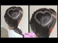 Corazon Perfecto con Trenza! Para San Valentin-Perfect Heart with Braid! Valentine's Day|Chikas Chic - YouTube