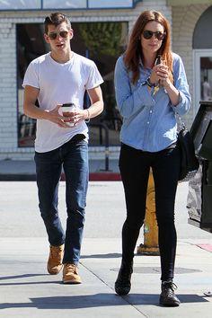 Alex Turner and Arielle Vandenberg :)