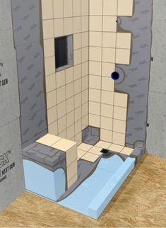16 Best Shower Renovation Ideas Images Showers Bench