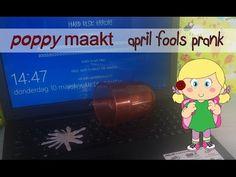 Poppy makes… an April fool's prank. In this video tutorial I will explain how you can make an April fool's prank. April fool's is a day of pranks and hoaxes and with this prank you will fool anyone. Have fun! Poppy maakt… een 1 april grap. In deze instructie video zal ik je uitleggen hoe je maakt een 1 april grap. 1 april is een dag vol grappen en grollen en met deze grap zul je iedereen voor de gek houden. Veel plezier!