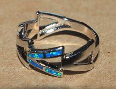 blue-fire-opal-ring-gemstone-silver-jewelry-Sz-8-modern-wedding-cocktail-band-K