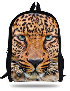85084fd6183e Cute Animal Backpacks For Kids White Tiger Bag For Children Boys School  Backpack Printed Bag For Kindergarten Gifts