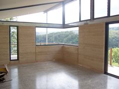 not a retaining wall, but another great rammed earth wall Rammed Earth Building Specialists - Gallery Rammed Earth Homes, Rammed Earth Wall, Eco Buildings, Earth Design, Metal Building Homes, Natural Building, Earthship, Interesting Buildings, Prefab Homes