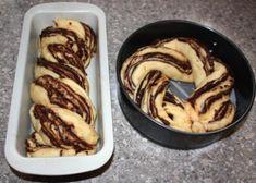 Fantastický twister čokoládový koláč - recept postup 12 Sweet Desserts, Sweet Recipes, Czech Recipes, Ethnic Recipes, A Food, Food And Drink, Going Vegan, Sausage, Pancakes