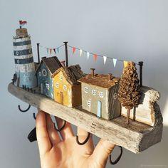 Barn Wood Crafts, Driftwood Crafts, Wooden Crafts, Diy Home Crafts, Diy Crafts To Sell, Diy Crafts For Kids, Sell Diy, Kids Diy, Decor Crafts