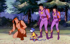 Apache Chief & The Wonder Twins Dc Heroes, Comic Book Heroes, Comic Books, Comic Book Panels, Comic Book Covers, Dc Comics Superheroes, Fun Comics, Wonder Twins, Detective Comics