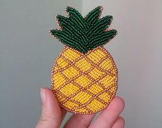 Resultado de imagen para beaded fruit brooch