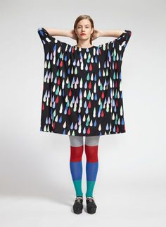 Drop dress (black, red, blue) | Clothing, Women, Dresses & skirts | Marimekko
