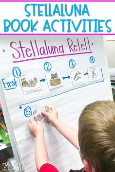 Have fun with these reading comprehension activities after reading the book, Stellaluna. With digital and printable options, you can use these engaging lesson plans in the classroom or at home for distance learning.