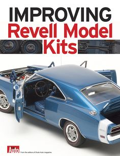 How to build a Revell Model Kit - Marine And Land Vehicles Revell Model Cars, Lowrider Model Cars, Toy Model Cars, Model Cars Building, Plastic Model Cars, Model Cars Kits, Kit Cars, Model Engine Kits, Modeling Techniques