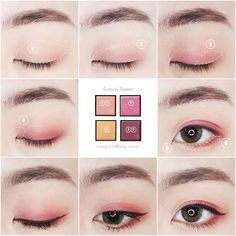 Makeup Essentials That You Don't Want To Go Without – Makeup Mastery Korean Natural Makeup, Korean Makeup Tips, Korean Makeup Tutorials, Korean Makeup Look, Ulzzang Makeup Tutorial, No Make Up Make Up Look, Eye Make Up, Asian Makeup Before And After, La Face