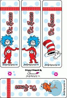 Free Printable Dr Seuss, Bookmarks - Home Page Dr. Seuss, Dr Seuss Week, Dr Seuss Crafts, Preschool Crafts, Binder Decoration, Hall Decorations, Dr Seuss Images, Christmas Gift Tags Printable, Printable Bookmarks