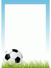 Soccer Birthday Parties, Football Birthday, Soccer Party, Sports Party, Borders For Paper, Borders And Frames, Boarder Designs, Baby Barn, Scrapbook Background