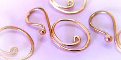 Handmade Removable Stitch Marker - for Knitting or Crochet - it's a Marker Keeper Too - Oval