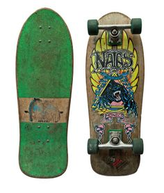 Natas Kaupas Santa Monica Airlines classic Skateboard #Skateboarding