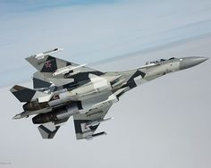 Indonesia has taken an interest in buying Russia's brand new multirole fighter jet Sukhoi United Aircraft Corporation (UAC) head Yuri Slyusar told Interfax in Ho Chi Minh City on Tuesday. Sukhoi Su 35, Military Jets, Military Aircraft, Su27 Flanker, Russian Fighter Jets, Photo Avion, Russian Plane, Russian Air Force, Air Fighter