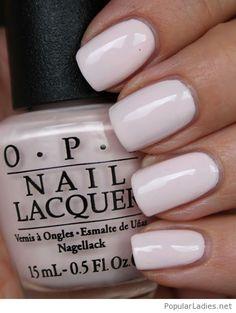 Sweet OPI nail polish for weddings