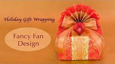 FAN-tastic Japanese Gift Wrapping - YouTube