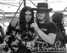 Lynyrd Skynyrd: Gary Rossington, Ronnie VanZant, Washington, D. Black Sabbath Concert, Gary Rossington, Lynard Skynard, Ronnie Van Zant, Old Music, Judas Priest, Rock Legends, Concert Posters, Great Bands
