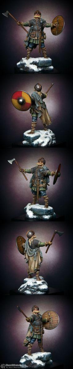 10th century Viking warrior