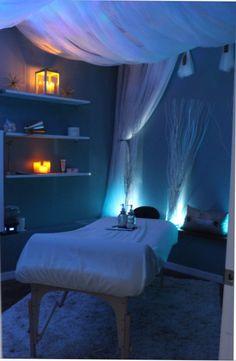 Life balance and beauty massage room! massage room in 2019 Massage Room Design, Massage Room Decor, Massage Therapy Rooms, Spa Room Decor, Beauty Room Decor, Home Spa Room, Spa Rooms, Ideas De Cabina, Esthetics Room