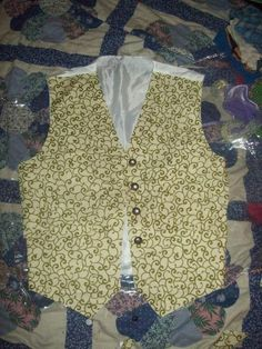 Sarah's Vest-Labyrinth Costume (WANT!)