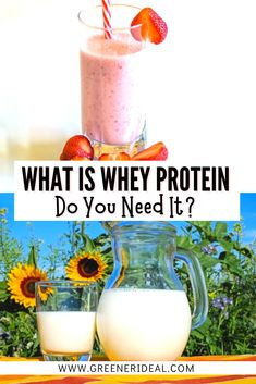 Whey is a cheap, convenient, and protein-rich supplement. But is whey protein good for you? Learn all about Whey Protein and if You Need to Take It. We have also took look at its nutritional data and research. What Is Whey Protein | Types, Uses, And Health Benefits | Learn more about this popular #protein #supplement #whey #wheyprotein #proteinpowder #nutrition