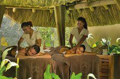 The spa at Trou aux Biches Mauritius