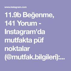 """11.9b Beğenme, 141 Yorum - Instagram'da mutfakta püf noktalar (@mutfak.bilgileri): """"@esramutfakta: @esramutfakta: tamda göründüğü gibi,yufkaları rulo yapıp kesersiniz,tavaya biraz…"""""""
