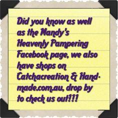 Purchasing from us is easy!!!  #mandysheavenlypampering