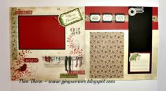 PJ's Corner: Yuletide Carol 8 Page Layout Workshop