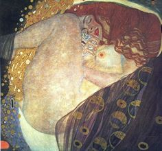 Klimt. Imagine being this comfortable when you're falling asleep.