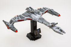 Vor'Char Class Klingon Bird of Prey by Jon & Catherine Stead on Flickr