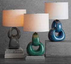 Tianna Ceramic Lamp Base | Pottery Barn