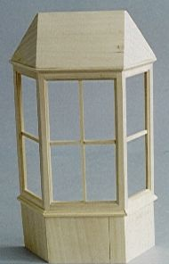 Diy128 Bay Window With Roof Minimum World The Online Dolls House Superstore Doll House Dolls House Interiors Diy Barbie Furniture