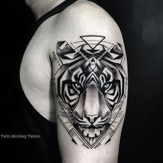 21 tiger tattoo 771 tattoos tattoos, monkey tattoos и tiger Monkey Tattoos, Leg Tattoos, Body Art Tattoos, Girl Tattoos, Tattoos For Guys, Tatoos, Tiger Design, Tiger Tattoo Design, Tattoo Life
