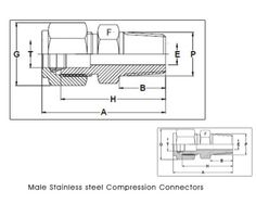 #MaleStainlesssteelCompressionConnectors  Conexstainless is a manufacturer exporters and suppliers of Male Stainless Steel Compression Connectors stainless steel connectors stainless steel adapters stainless steel compression fittings steel compression fittings compression connector compression connectors stainless steel compression fitting stainless steel connectors compression connector