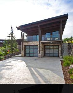Garage Plans With Loft, Plan Garage, Diy Garage Door, Modern Garage Doors, Garage Door Design, Garage House Plans, Home Garage, Garage Kits, Garage Apartment Plans