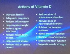 I take Vitamim D because I live in North America where we do not get enough sunlight and block the sun with sunscreen
