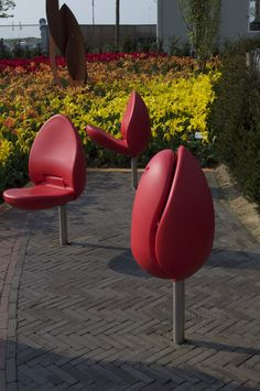 Designed For The STREETS — The Dutch Tulpi chair by Marco Manders, isn't this...