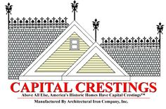 Welcome to Capital Crestings - America's Leading Fabricator of Roof Crestings Finials & Snowguards Russian Architecture, Architecture Details, Victorian Architecture, Architectural Features, Architectural Salvage, Roof Rails, Exterior Trim, Crests, Metal Roof
