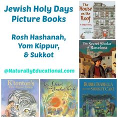 Jewish Holy Days Picture Books for Rosh Hashanah, Yom Kippur, and Sukkot.