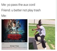 The Stranger Things theme song is sick as frick