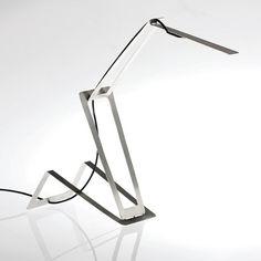 LED Desk light by Masiosare Studio  // I like how it seems to unfold. It feels animated.