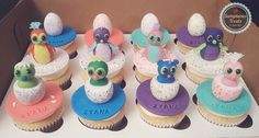 Hatchimals Cupcakes ~ Custom-Made-To-Order Cakes, Cookies & Cupcakes Edible Art ~ www.sumptuoustreats.com