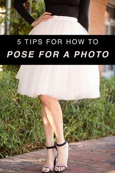 "Say ""happy"" instead of ""cheese."" // 5 Tips for How to Pose for a Photo"