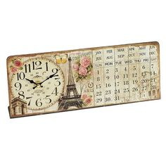 Free-standing clocks, for tables, desks and shelves, are useful, practical additions to the home. Find you table clock from our collection. Wooden Tables, Alarm Clock, 9 And 10, Vintage World Maps, Finding Yourself, Retro, Clocks, Calendar, Collection