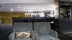 Harrington Bar at the Quay West Suites Sydney Quay West, Family Travel, Sydney, Couch, Bar, Furniture, Home Decor, Family Trips, Settee