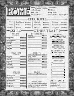 Example D&D Character Sheet Nerdism Dungeons, Dragons